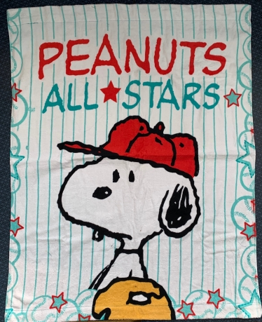 Полотенце махровое с мульт героем Peanuts