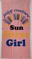 Полотенце махровое с солнечным принтом