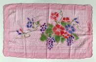 Полотенце махровое с цветами