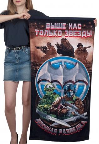 """Полотенце махровое """"Военные разведчики"""""""