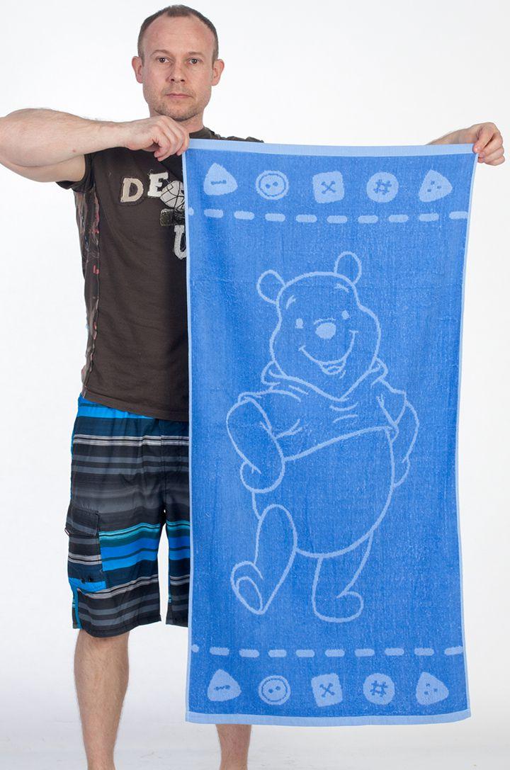 Полотенце Медвежонок Винни - купить в интернет-магазине