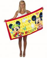 Прикольное пляжное полотенце MICKEY