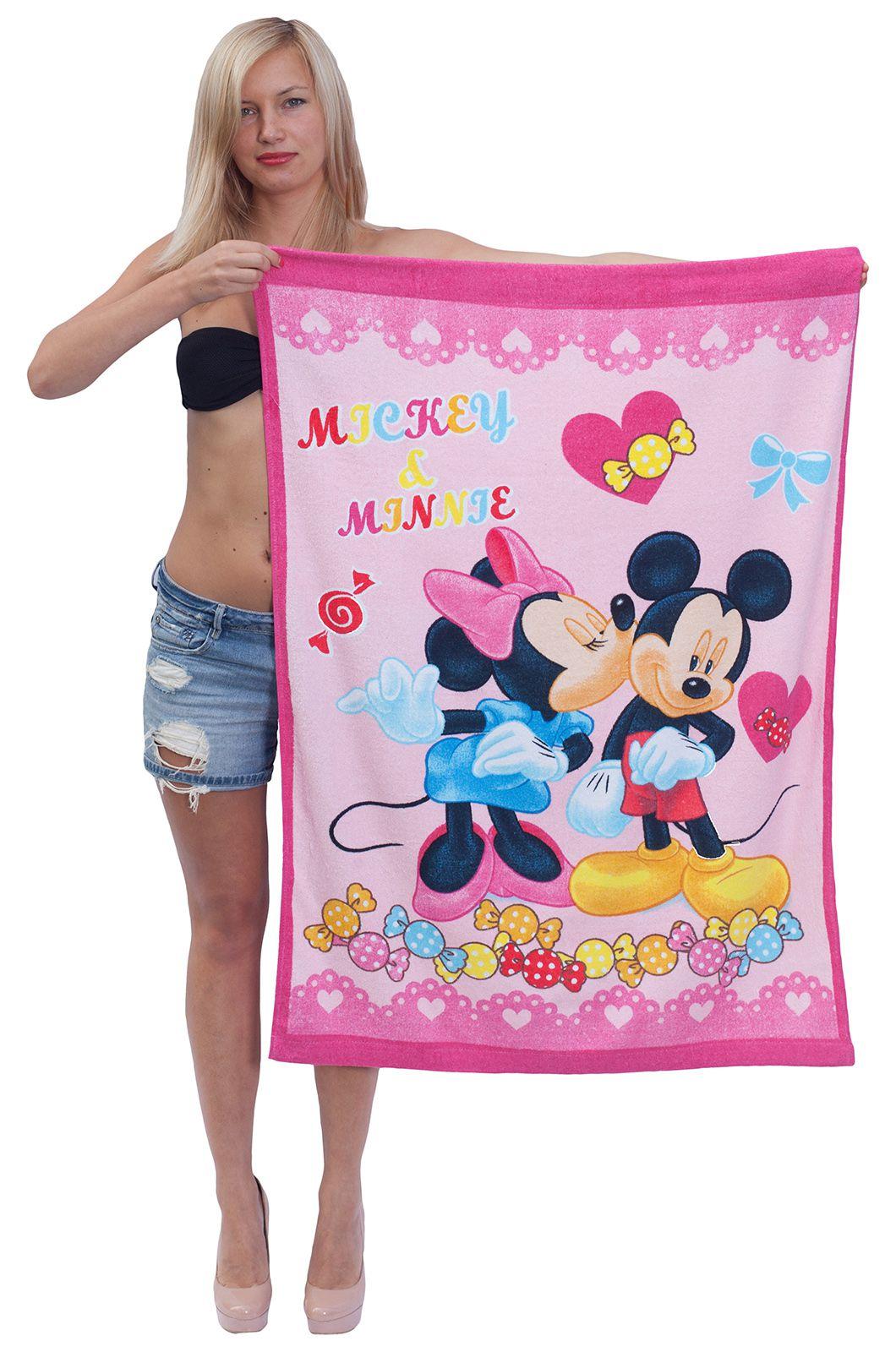 """Полотенце """"Микки и Минни Маус"""" - купить недорого"""