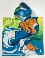 Полотенце накидка с дельфином