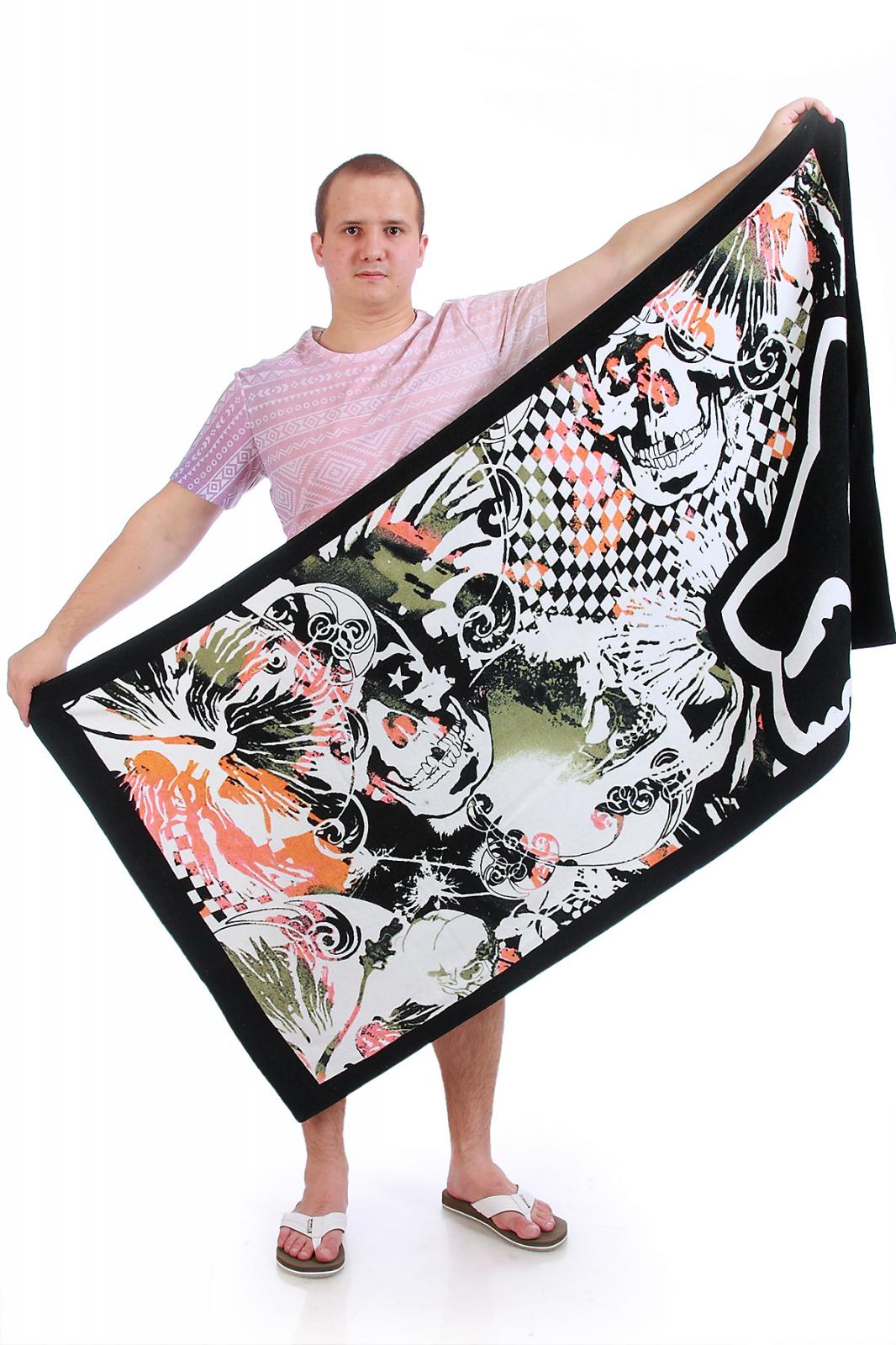 Пляжное полотенце-покрывало Fox Riders.