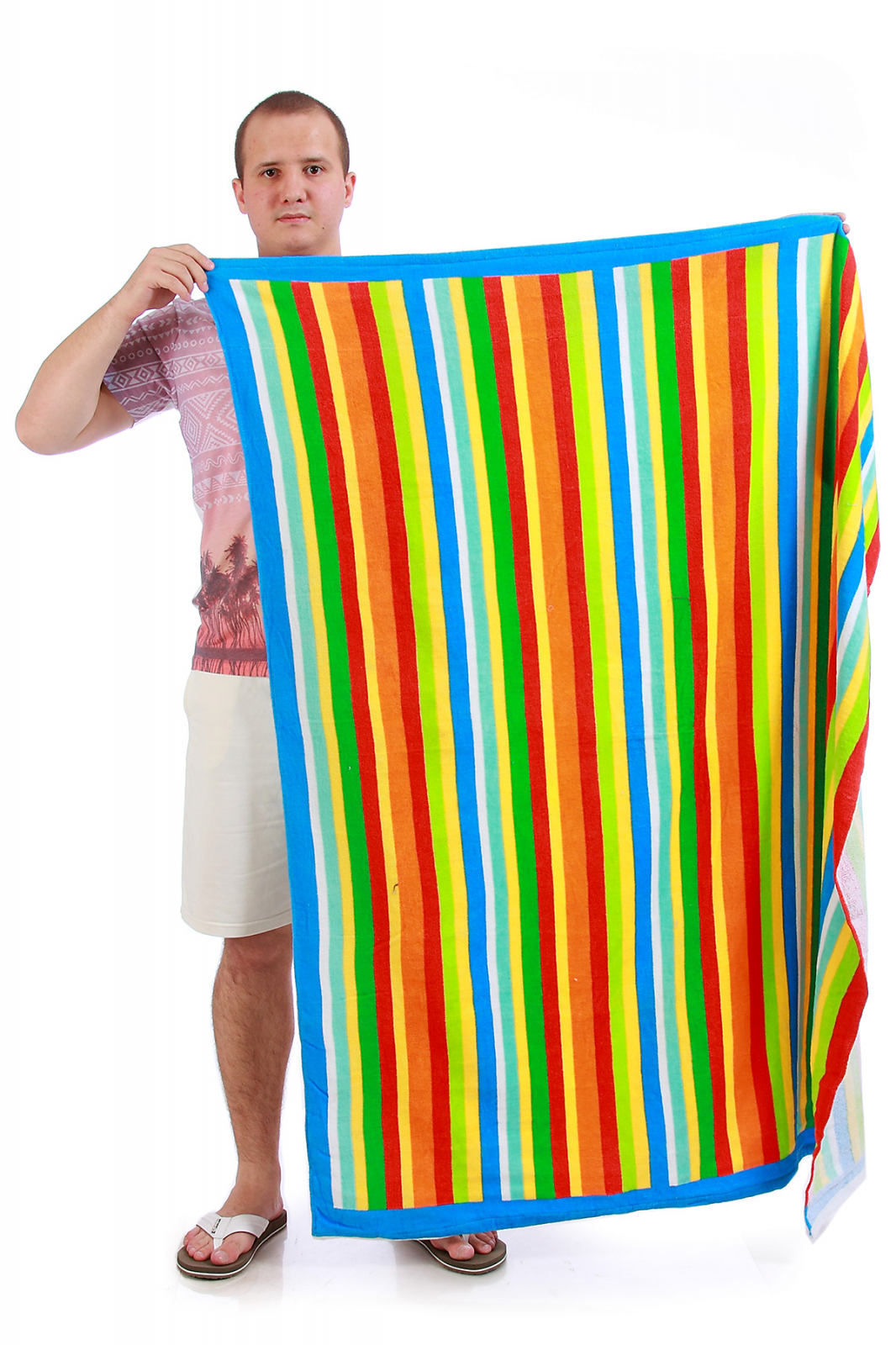 Полотенце полосатое - заказать в интернет-магазине