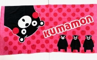 Полотенце розовое Kumamon