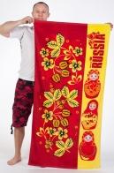 Купить полотенце RUSSIA «Матрёшки»