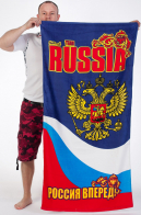 Полотенце RUSSIA «Россия вперед!»