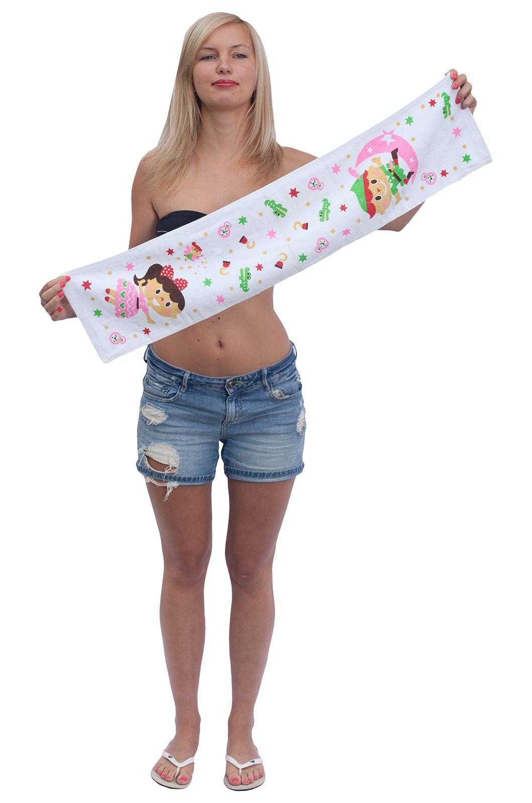 Полотенце с детским рисунком - купить в интернет-магазине