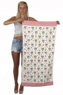 Берегите свои мимиметры! Нежное пляжное полотенце с медвежатами