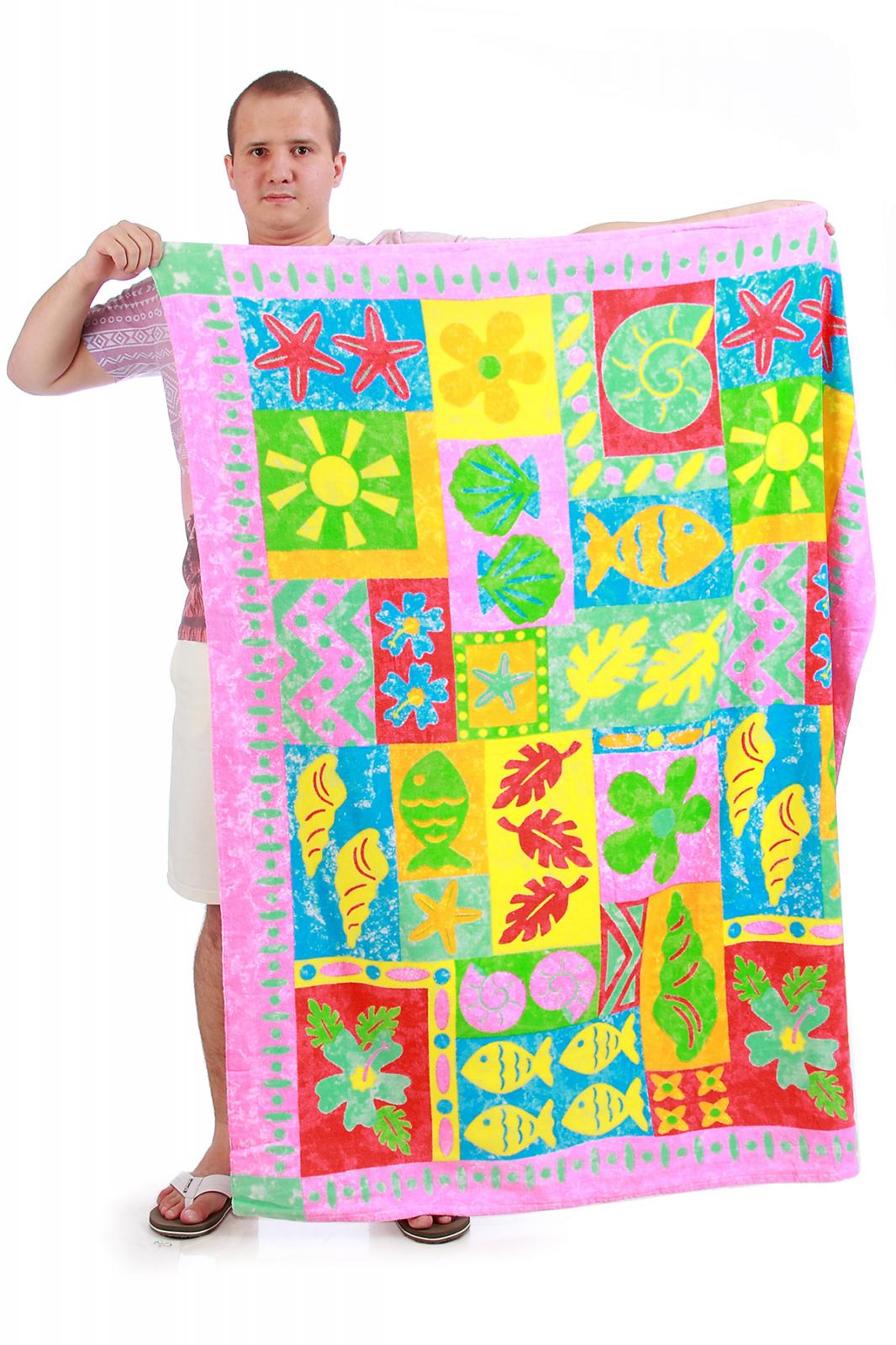 Полотенце с рисунками - купить с доставкой в интернет-магазине