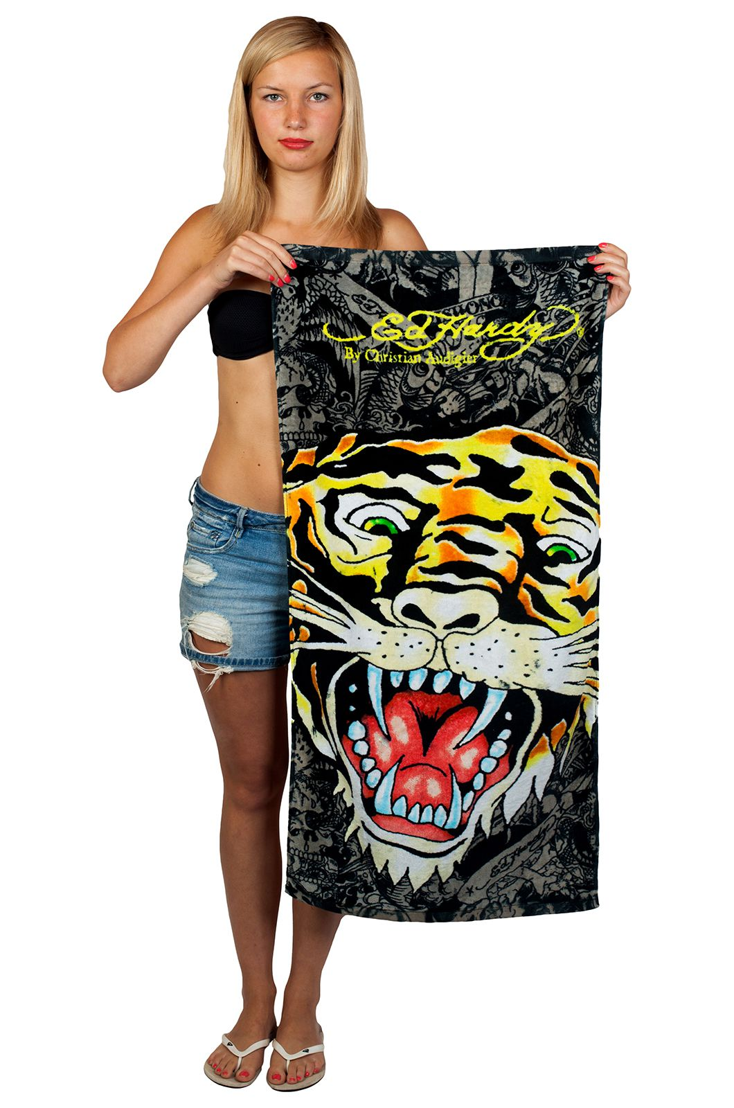 Полотенце с тигром
