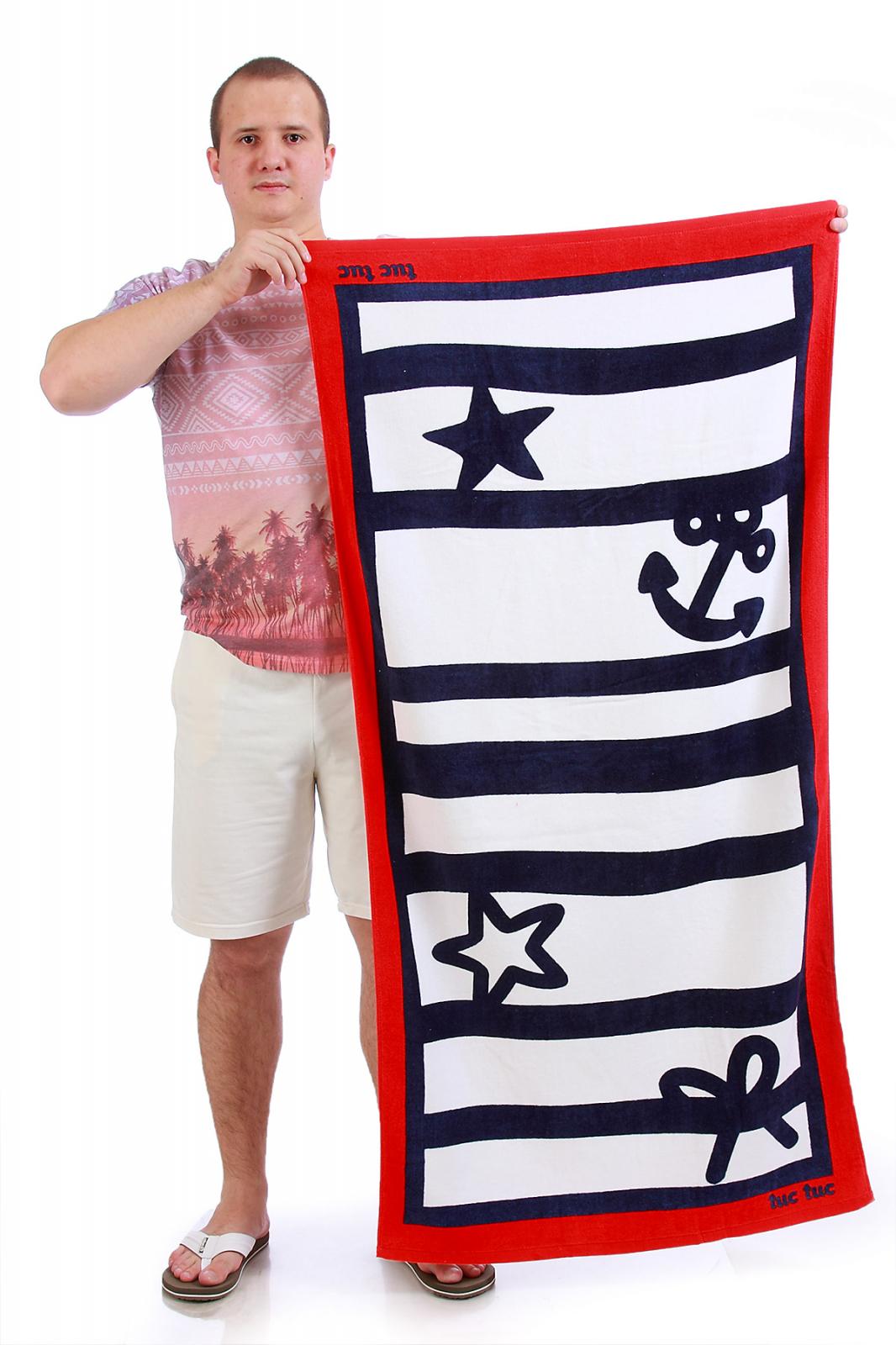 Полотенце с якорем - купить с доставкой онлайн