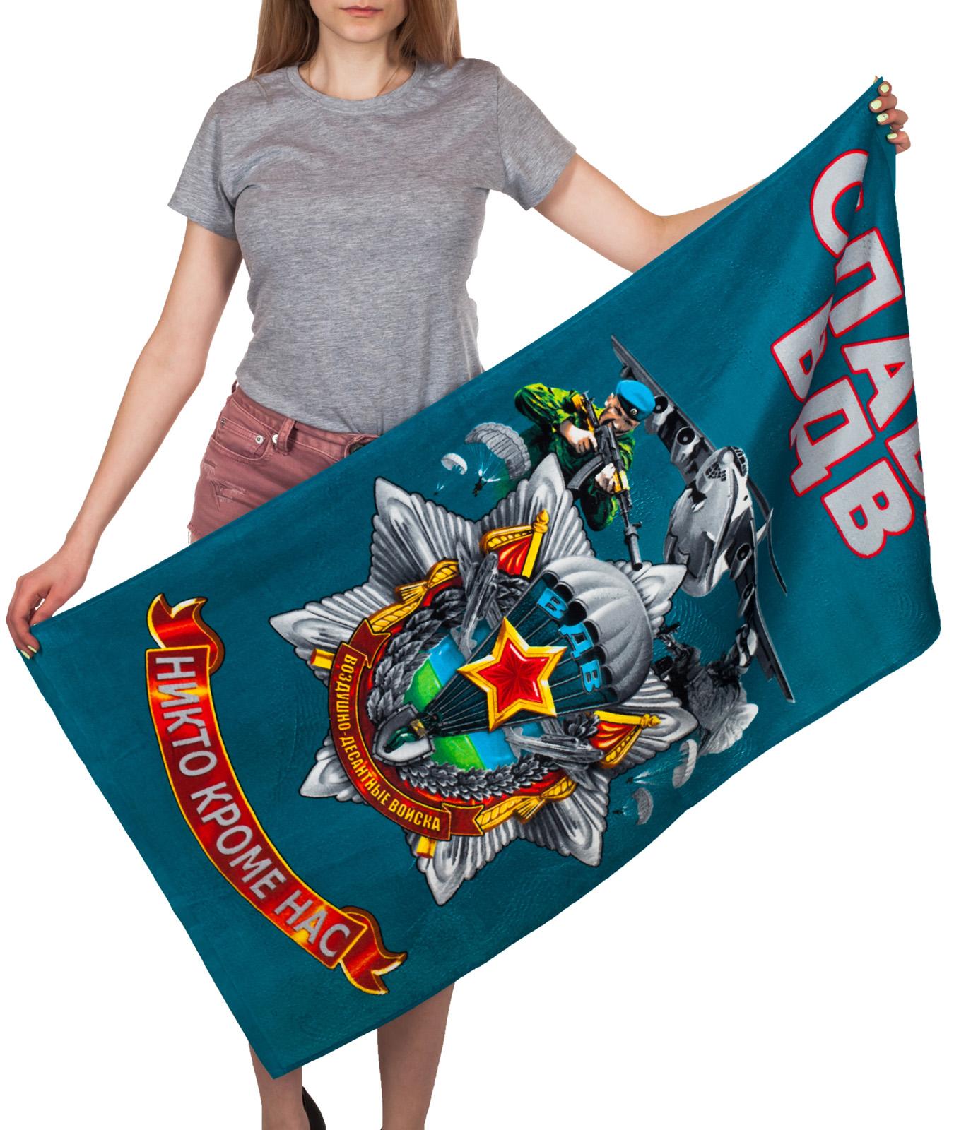 Полотенца и другие сувениры с символикой десантников