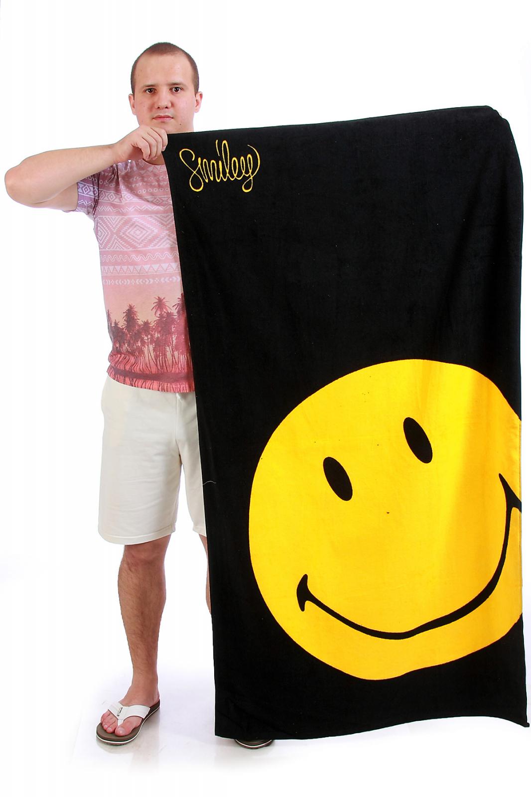 Полотенце со смайлом - купить онлайн с доставкой