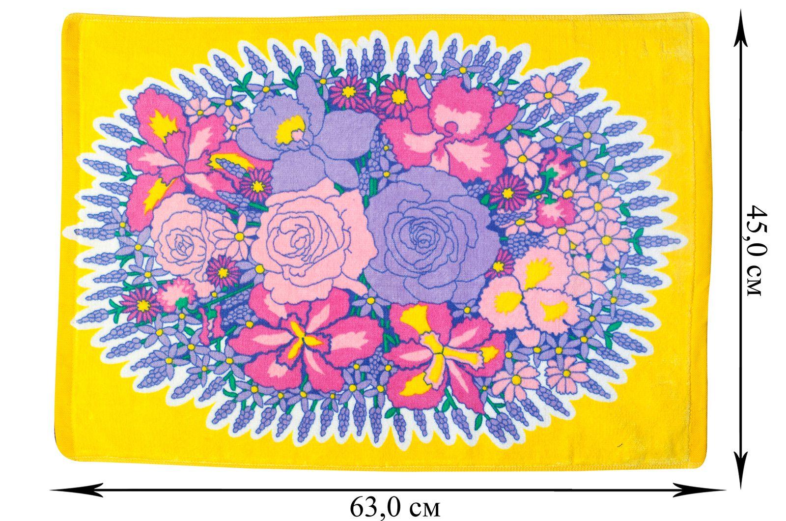 Полотенце среднее Букет Цветов