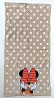 Полотенце в горошек с Минни Маус