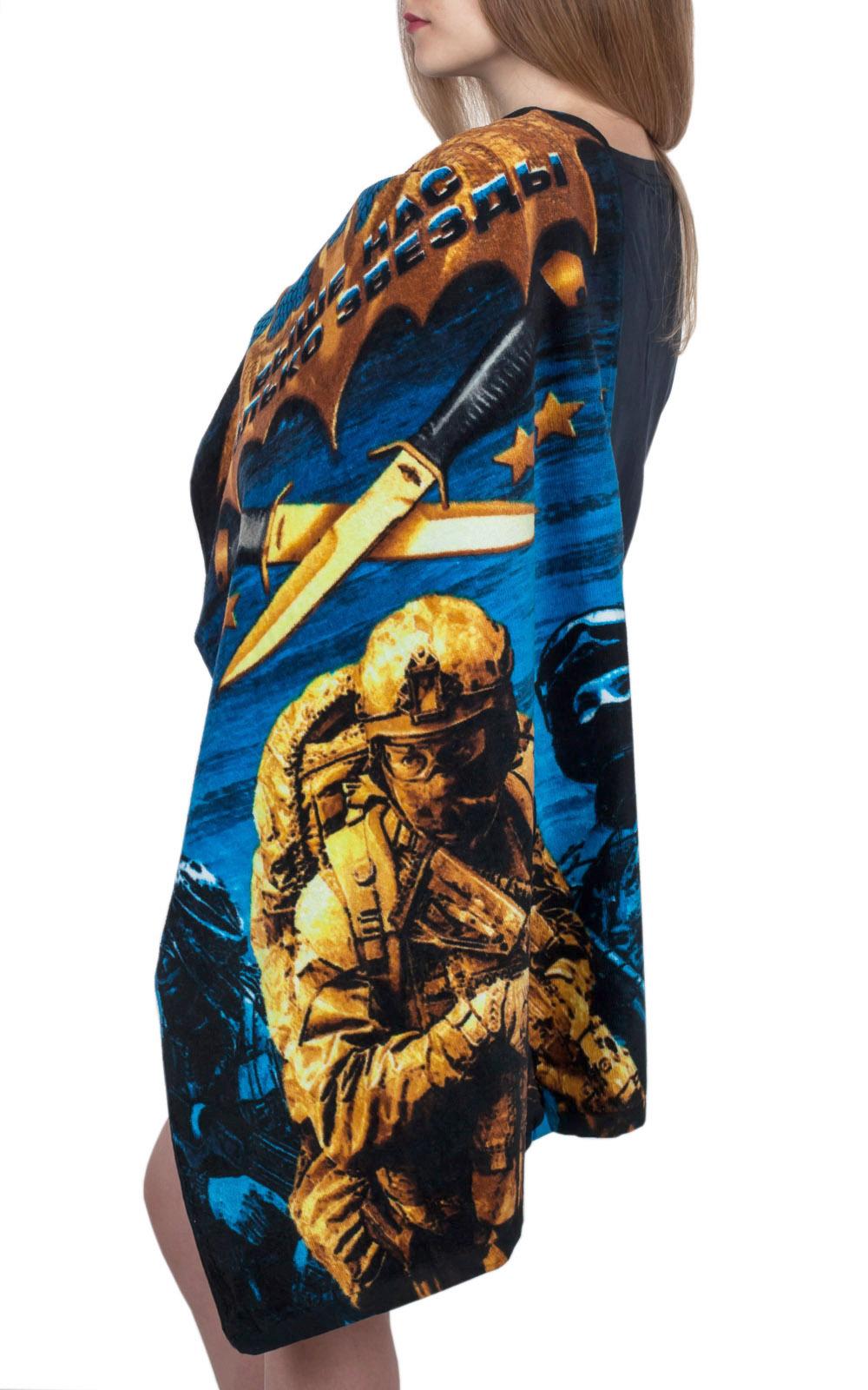 Махровое полотенце «Военная Разведка»