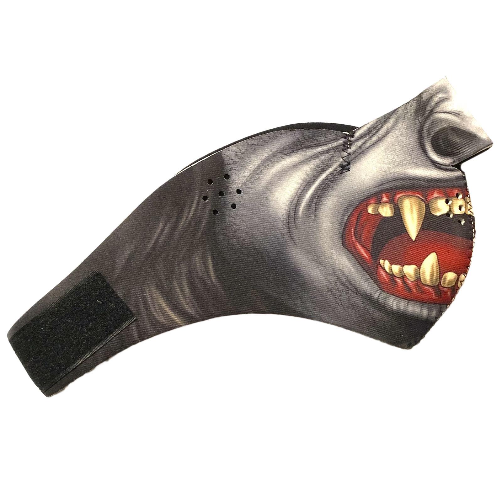 Полулицевая неопреновая антивирусная маска Wild Wear Wolverine