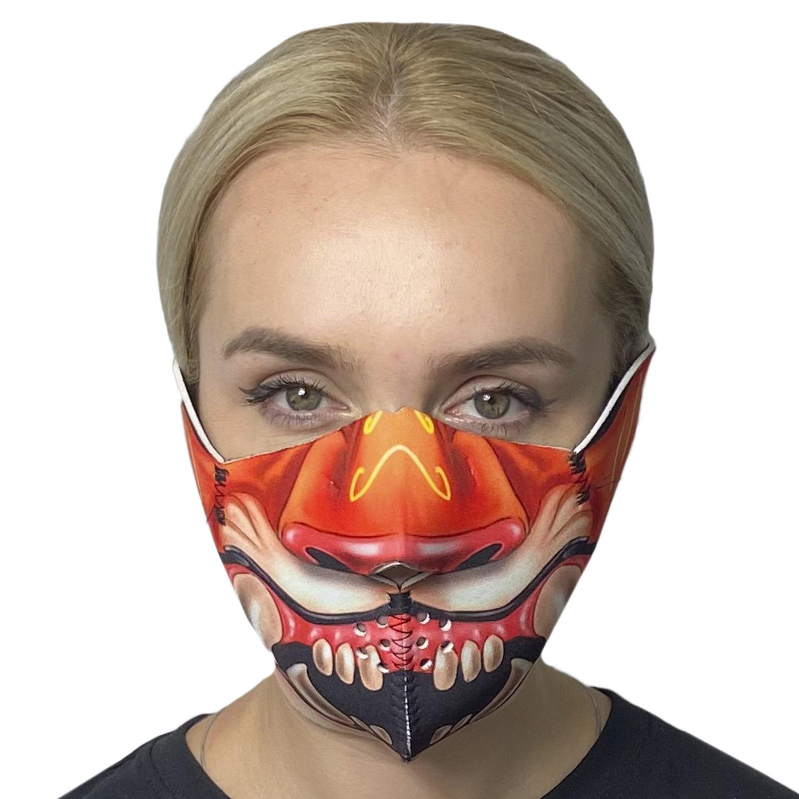 Полулицевая защитная маска Wild Wear Tiger на липучке