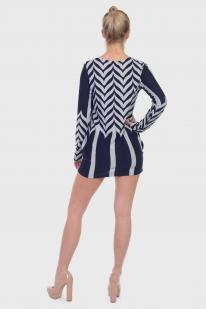 Полуприлегающее платье-туника Young Threads.