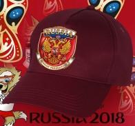 Очень понтовая бейсболка с символикой России