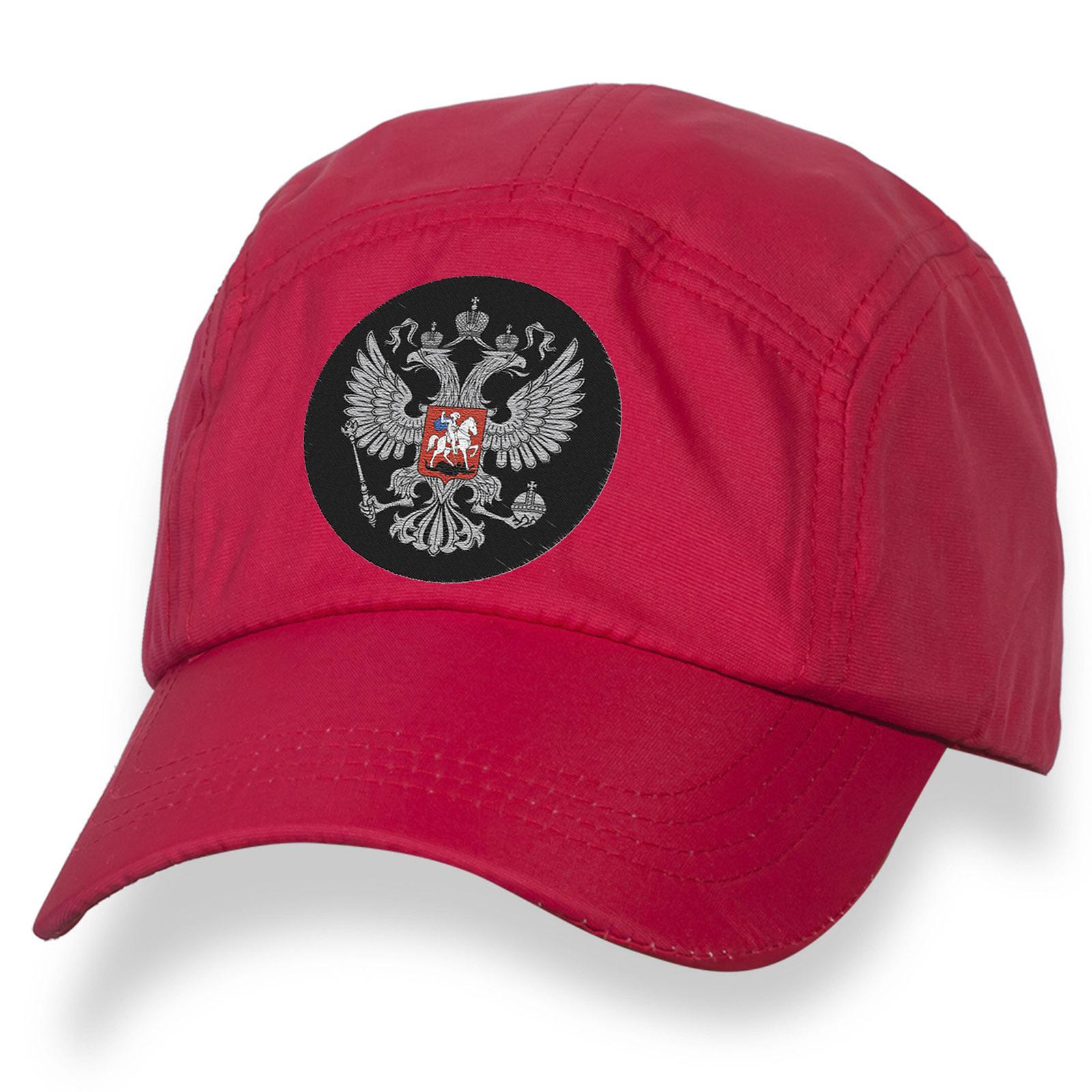 Популярная бейсболка с шевроном Герб России.