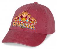 "Популярная бейсболка ""Russia"""