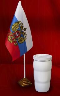 Популярная белая термокружка с доставкой