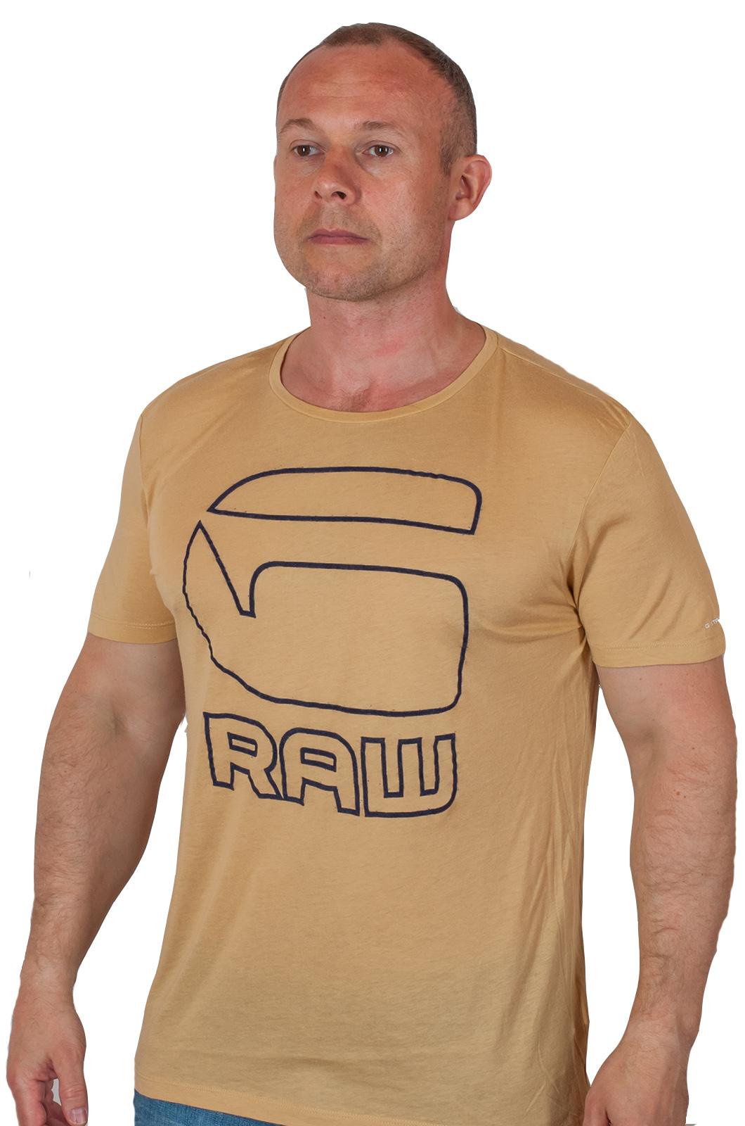 Популярная брендовая футболка G-Star Raw® Cadulor