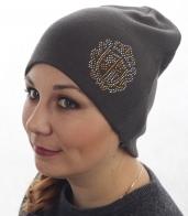 Популярная женская шапка с аккуратным декором