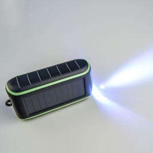 Портативное зарядное устройство (ручная подзарядка + солнечная батарея) Hand Solar Charger