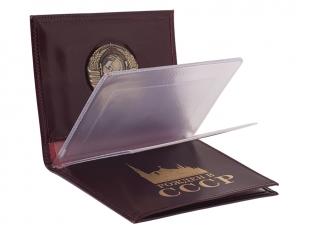 Портмоне для документов с гербом СССР по лучшей цене