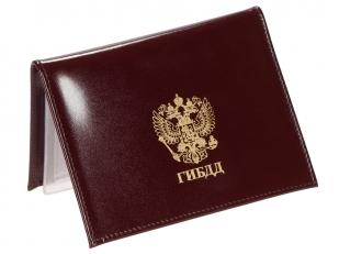 Купить портмоне для удостоверения с жетоном ДПС