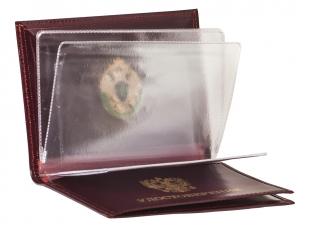 Портмоне-обложка для удостоверений с жетоном «Пограничная Служба» с доставкой
