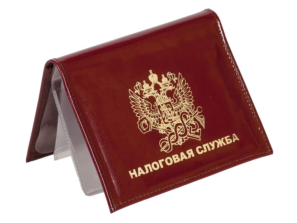 Портмоне - обложка для удостоверения с жетоном «Налоговая Служба» по выгодной цене