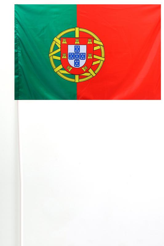 Португальский флажок на палочке