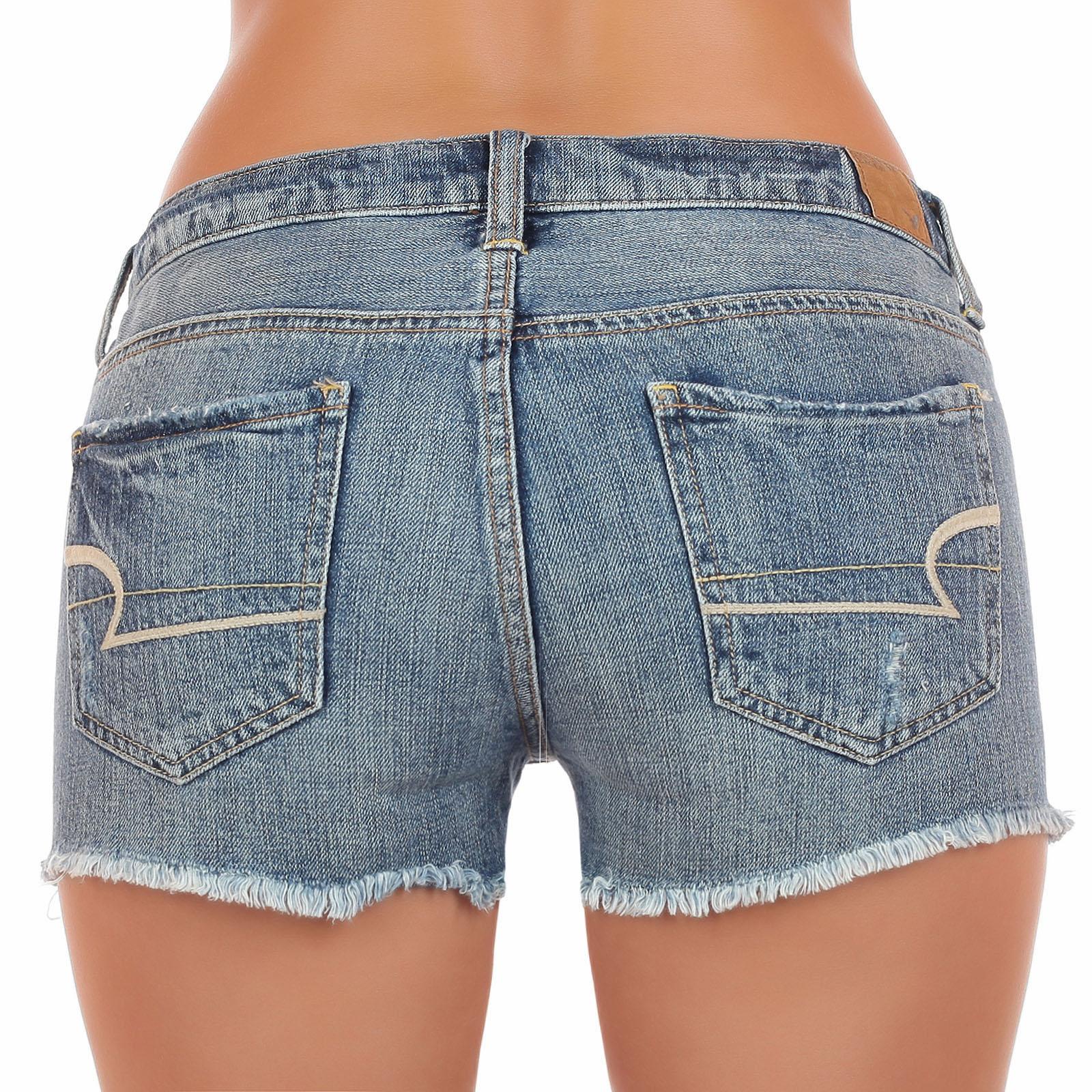 Потёртые джинсовые шорты American Eagle. Фасон, который КРУЖИТ парней и нервирует твоих подруг