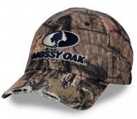 Классная потрёпанная бейсболка MOSSY OAK