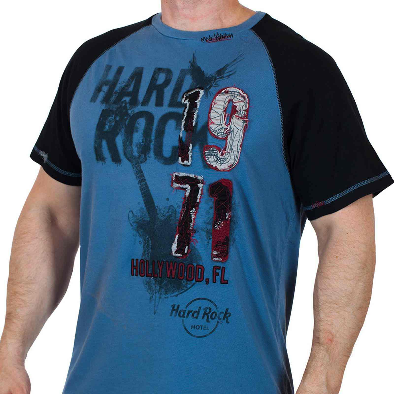 Потрясная мужская футболка Hard Rock Hollywood