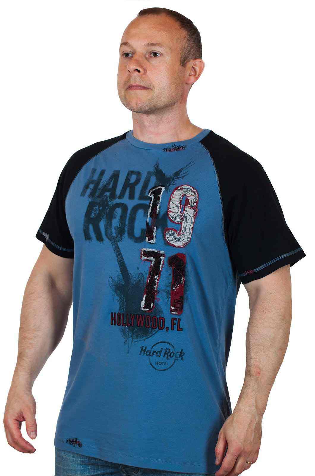 Потрясная мужская футболка Hard Rock Hollywood №134