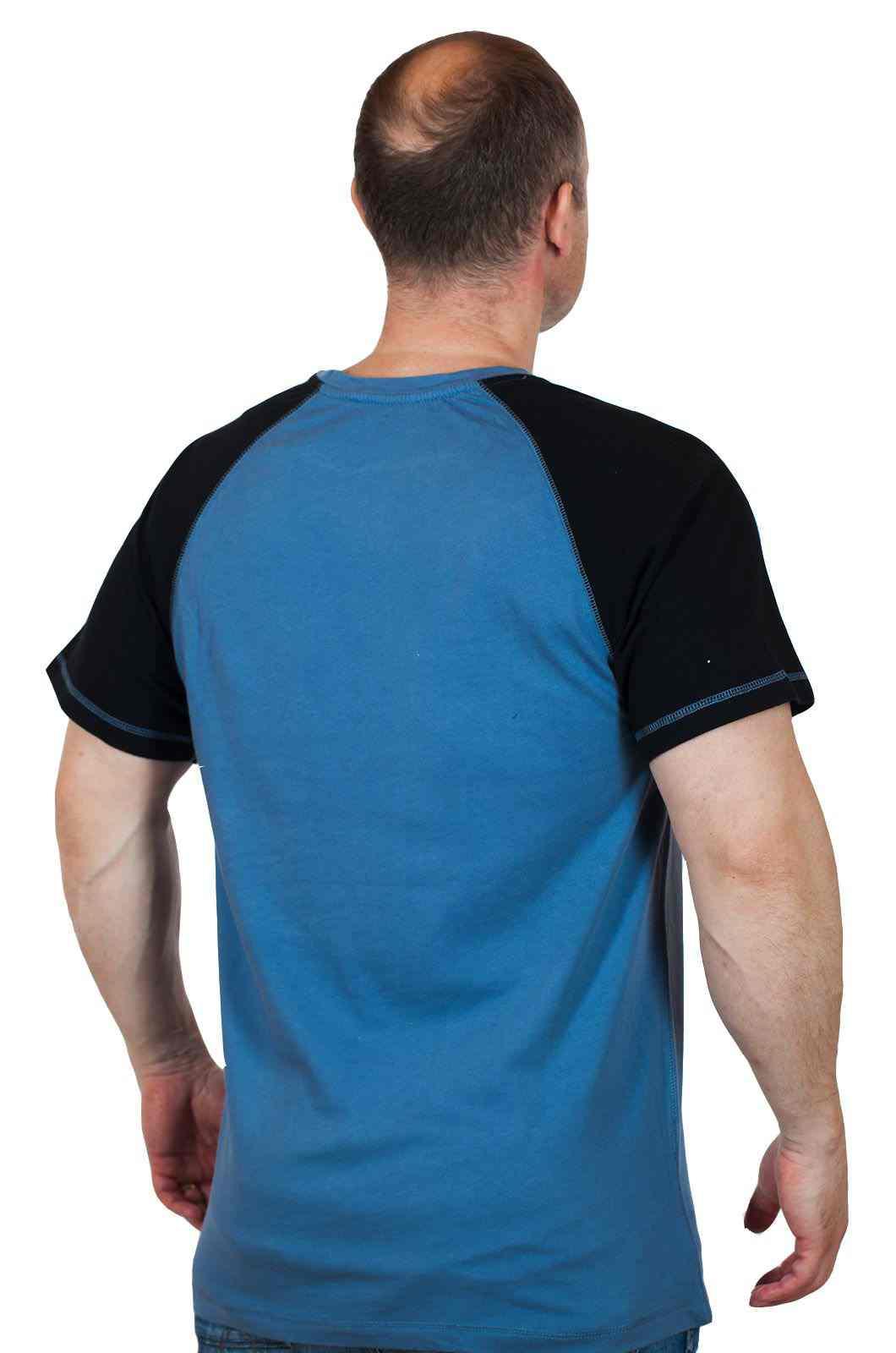 Потрясная мужская футболка Hard Rock Hollywood-вид сзади