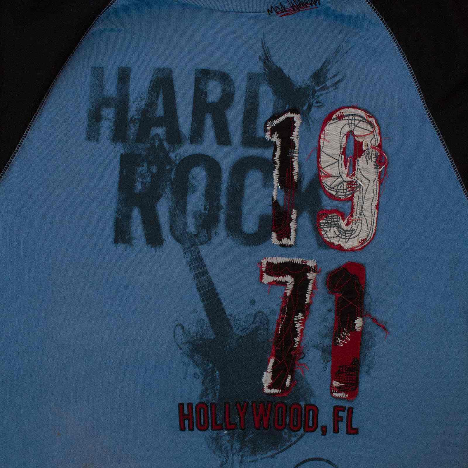 Потрясная мужская футболка Hard Rock Hollywood-увеличение