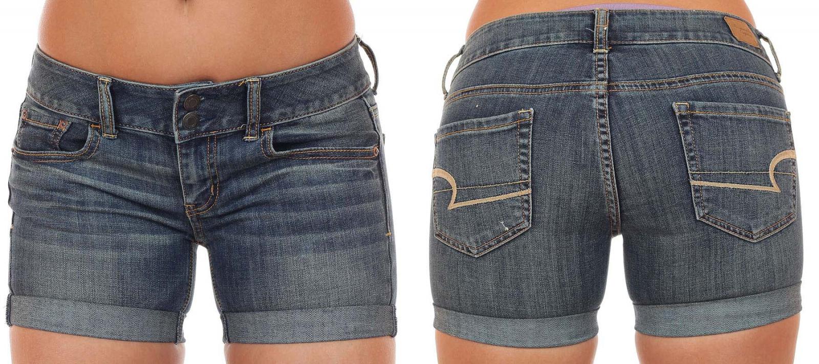 Потрясные джинсовые шорты для обольщения мужчин - доставка на выбор