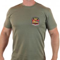 Повседневная мужская футболка Танковые Войска.