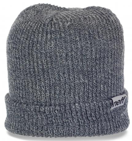 Повседневная мужская шапка для межсезонья от Neff