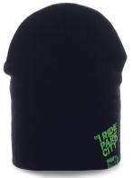 Повседневная мужская шапка от Neff. Мягкий материал комфортно согреет, а современный дизайн привлечет внимание