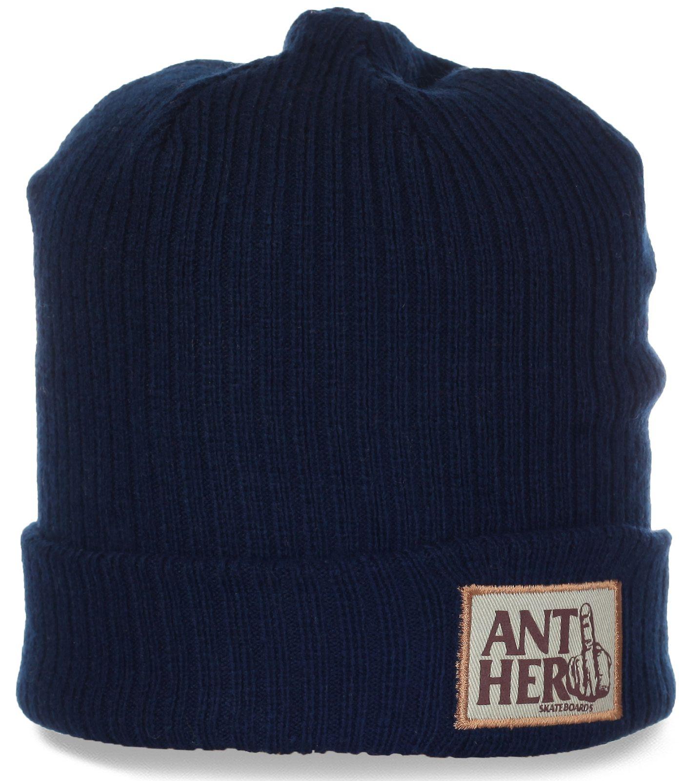 Повседневная шапка для стильных мужчин от Anther