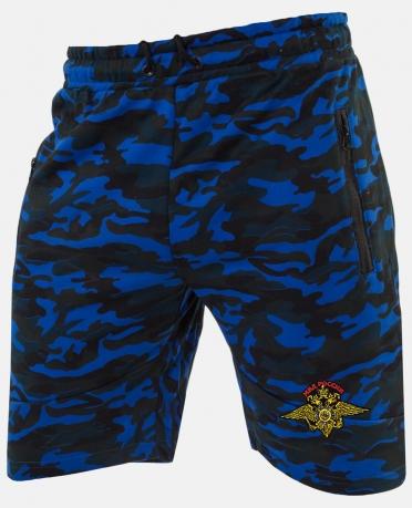 Купить повседневные мужские шорты с эмблемой МВД